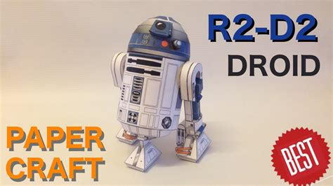 How To Make R2d2 Out Of Paper - how to make best free paper r2 d2 papercraft
