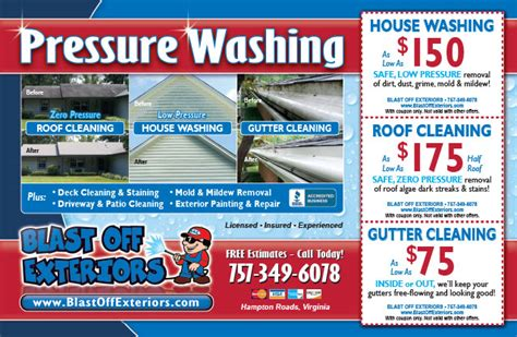 Pressure Cleaning In Suffolk Va Blas On Pressure Washing Flyers Ecogreenpressure Flyer From Power Washing Flyer Templates Free
