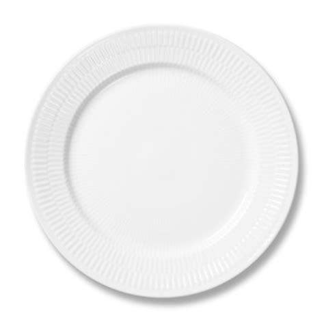 Telolet Bulat royal copenhagen white fluted plain dinner plate