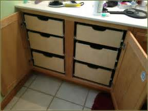 kitchen cabinet pull out drawers furniture tray dividers