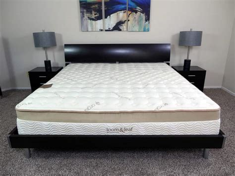 tempurpedic king size bed loom and leaf vs tempurpedic mattress review sleepopolis