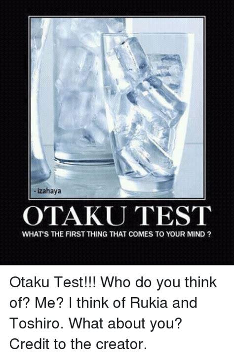 otaku test 25 best memes about otaku test otaku test memes