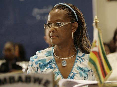 biography of grace mugabe grace mugabe wife of zimbabwe s president enters