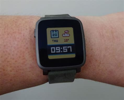 Pebble Time Steel Smartwatch White impression pebble time steel robert setiadi website