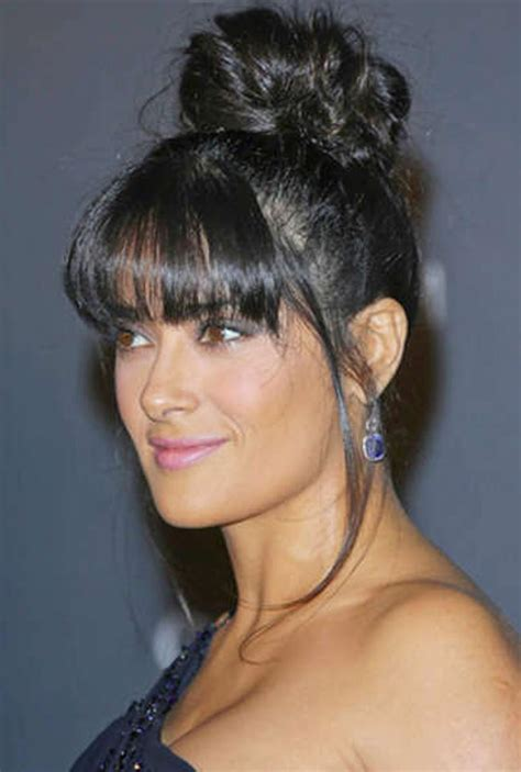 Black Hairstyles With Bangs Pictures by Pictures Of Black Updo Hairstyles With Bangs
