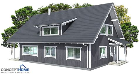 nordic house plans small house plan ch137 in nordic architectural style house plan