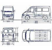 Mercedes Sprinter 208d Dimensions