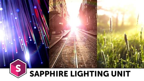 Sapphire Lighting by Boris Fx Sapphire Lighting Unit