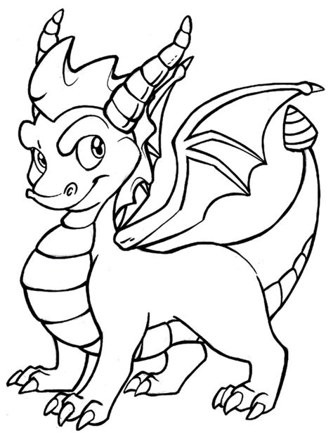 Coloring Pages Of Spyro The Dragon | spyro the dragon coloring pages free coloring pages free
