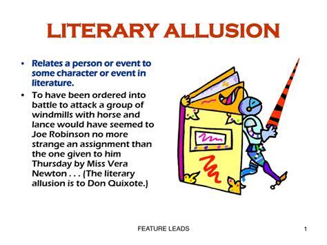 allusion exles in literature www pixshark com