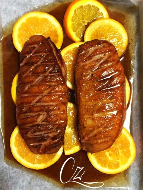cucinare il petto di anatra petto d anatra laccato all arancia secondi piatti