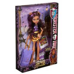 monster travel scaris clawdeen wolf doll