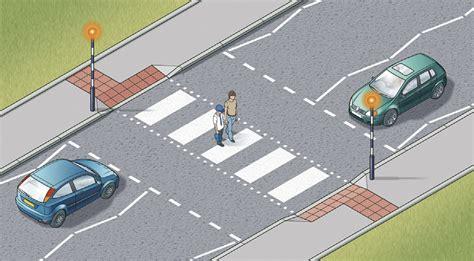 at the crossing pedestrian crossing measures
