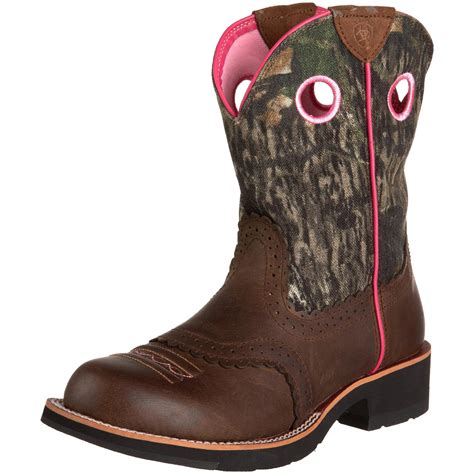 womens ariat fatbaby boots ariat ariat womens fatbaby boot in brown