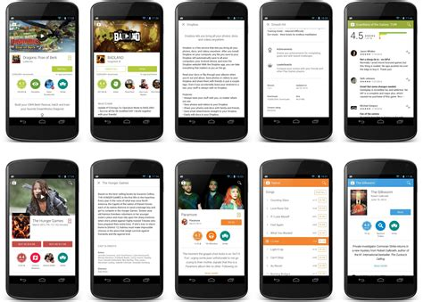 design app store google play store updated to v4 9 13 brings material design