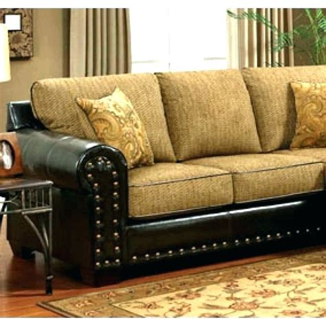 Fabric Leather Sofa Combination by Fabric And Leather Combination Sofa Leather And Fabric
