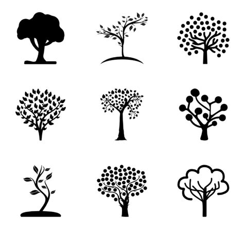 tree symbol font 36 tree icon packs vector icon packs svg psd png