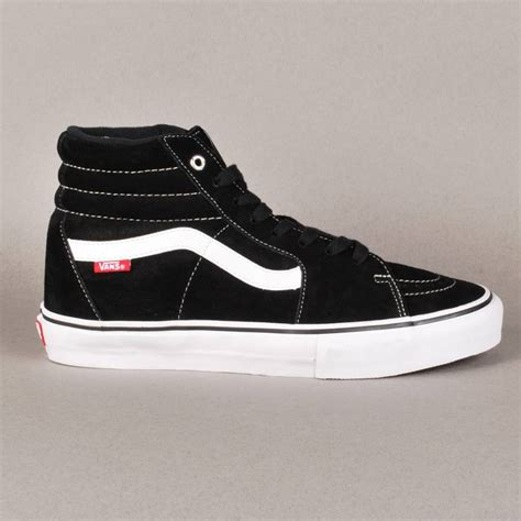 vans skate shoes vans vans sk8 hi pro skate shoes black white vans