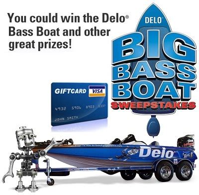 Bass Boat Giveaway - 2012 delo bass boat sweepstakes sweepstakesbible