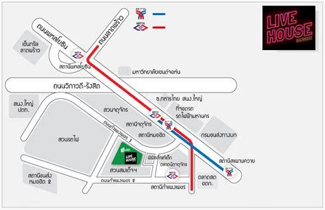 live house map 171 live house studio bangkok