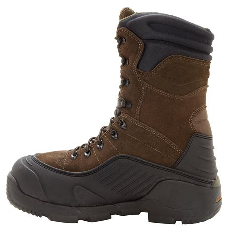 mens insulated boots s steel toe waterproof insulated work boot the rocky