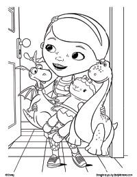 disney coloring pages doc mcstuffins doc mcstuffins coloring pages dr odd