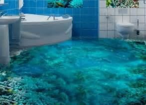 pavimento in resina bagno pavimento bagno shabby barriera corallina bagno 3d