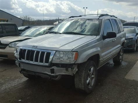wrecked jeep grand salvage jeep grand cherokee suvs for sale and auction
