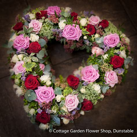 Pink Red Rose Heart The Cottage Garden Flower Shop Cottage Garden Flower Shop