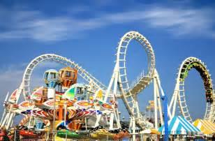 Amusement Parks In Amusement Park Rides Jigsaw Puzzle Puzzlemobi