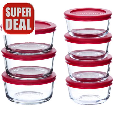 pyrex glass food storage containers 14 glass food storage set container canisters bowl