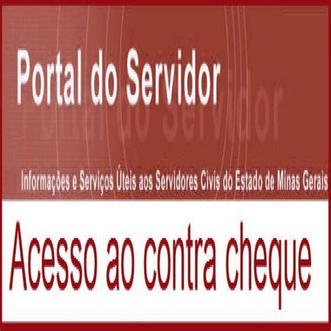 portal do servidor minas gerais contra cheque mg portal do servidor