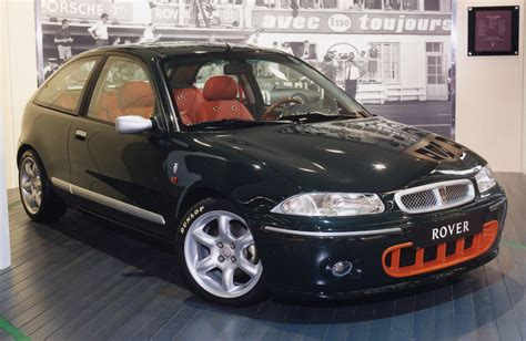 rover  hatchback review   parkers