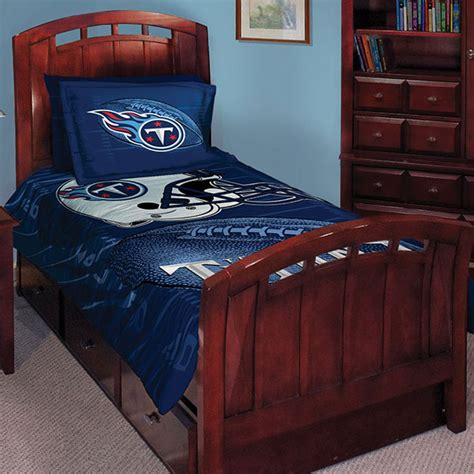 nfl bedroom decor tennessee titans nfl twin comforter set 63 quot x 86 quot