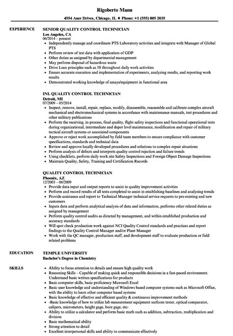 Quality Control Technician Resume Sample Awesome Endoscopy