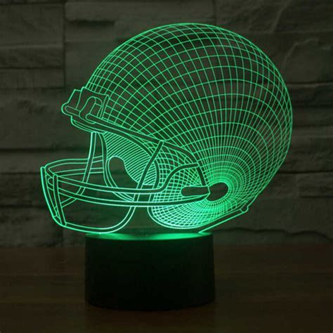 Lu 3d Led Transparan Design Tengkorak lu 3d led transparan 7 color design rugby cap multi color jakartanotebook