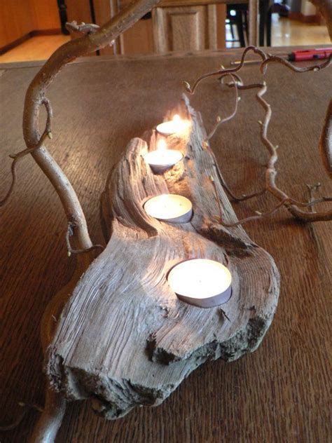 the 25 best driftwood candle holders ideas on pinterest