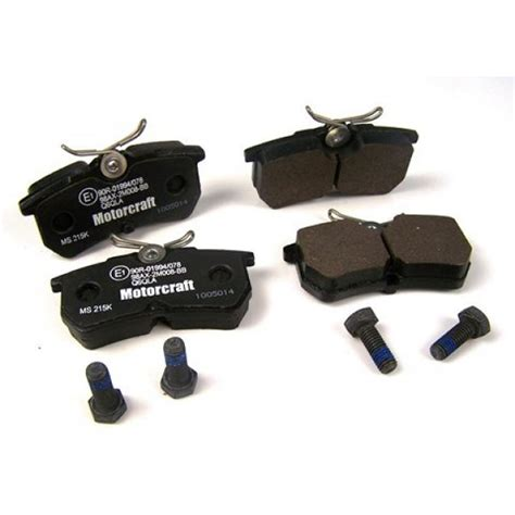 ford focus st250 eco boost genuine ford rear brake pads