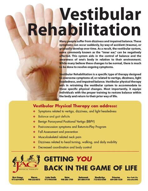 vestibular therapy near me vestibular rehabilitation services special programs and