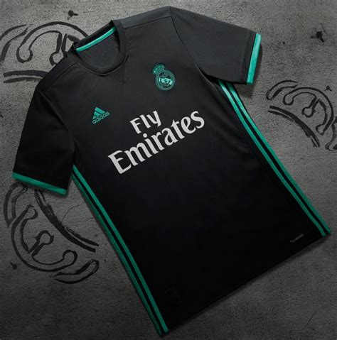 Jersey Real Madrid Away 2018 1 real madrid jersey 2017 2018 home away and third kits released footballplayerpro