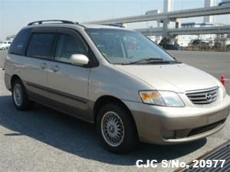 how petrol cars work 2000 mazda mpv electronic toll collection 2000 mazda mpv beige 2 tone for sale stock no 20977 japanese used cars exporter