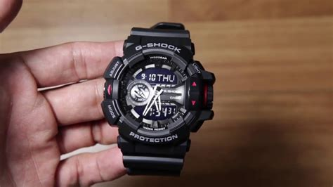Gshock Ga 400 casio g shock ga 400 1b black edition