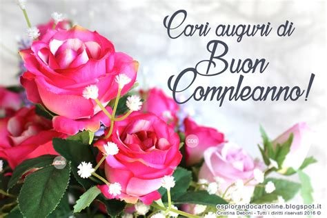 fiori di buon compleanno gratis immagini con frasi da scaricare gratis