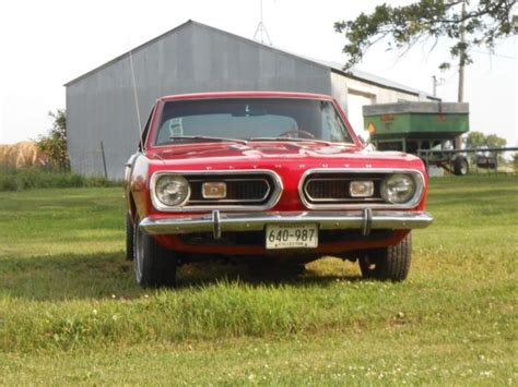 1967 plymouth barracuda formula s for sale photos