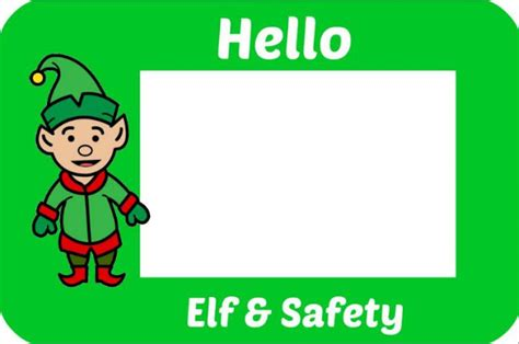 printable elf name tags rosie s cottage printable name badge for the elf in your