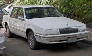 Dodge Intrepid Interior File 1992 Or 1993 Chrysler New Yorker Salon Jpg