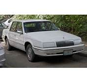 1992 Or 1993 Chrysler New Yorker Salonjpg  Wikimedia Commons
