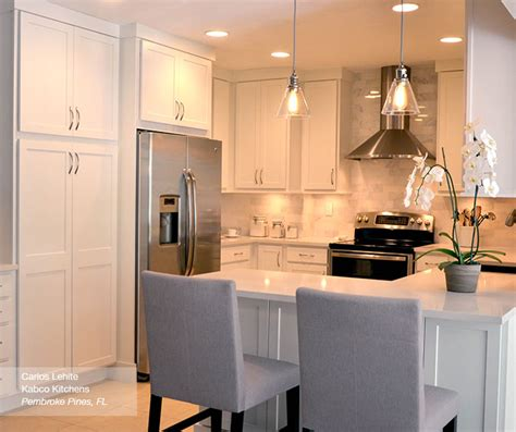 White Shaker Kitchen Cabinets   Homecrest Cabinetry