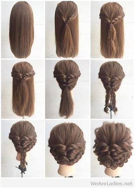 Hairstyles For Tutorial by Fashionable Braid Hairstyle Tutorial For Shoulder Length Hair
