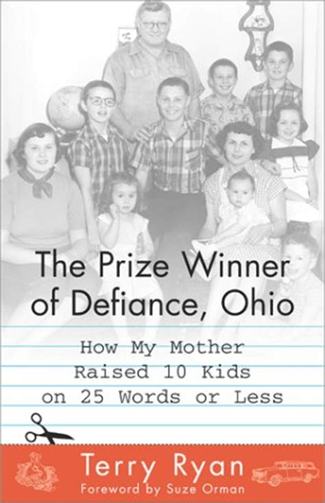 Book Review The Prize Winner Of Defiance Ohio By Terry by Booked Solid With Virginia C Review Quot The Prize Winner Of